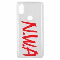 Чехол для Xiaomi Mi Mix 3 N.W.A Logo
