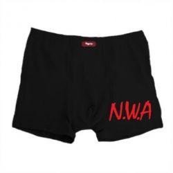 Мужские трусы N.W.A Logo - FatLine