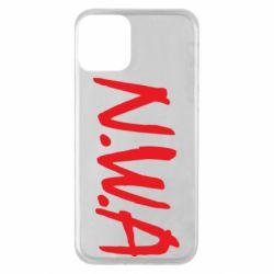 Чехол для iPhone 11 N.W.A Logo