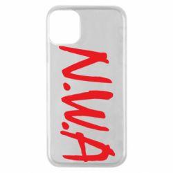 Чехол для iPhone 11 Pro N.W.A Logo