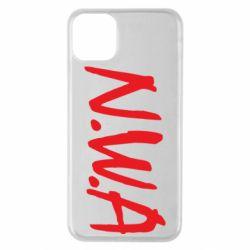 Чехол для iPhone 11 Pro Max N.W.A Logo