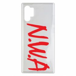 Чехол для Samsung Note 10 Plus N.W.A Logo