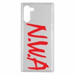 Чехол для Samsung Note 10 N.W.A Logo