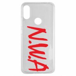 Чехол для Xiaomi Redmi Note 7 N.W.A Logo