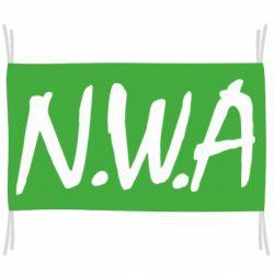 Флаг N.W.A Logo
