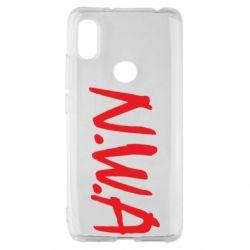Чехол для Xiaomi Redmi S2 N.W.A Logo