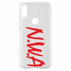 Чехол для Xiaomi Mi Play N.W.A Logo