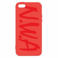 Чехол для iPhone5/5S/SE N.W.A Logo