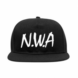 Снепбек N.W.A Logo - FatLine