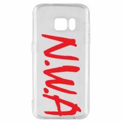 Чехол для Samsung S7 N.W.A Logo