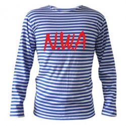 Тельняшка с длинным рукавом N.W.A Logo - FatLine