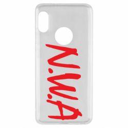 Чехол для Xiaomi Redmi Note 5 N.W.A Logo