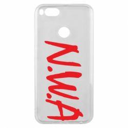 Чехол для Xiaomi Mi A1 N.W.A Logo