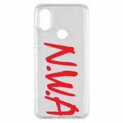 Чехол для Xiaomi Mi A2 N.W.A Logo