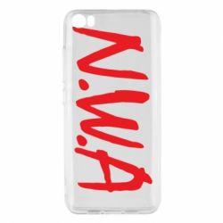 Чехол для Xiaomi Mi5/Mi5 Pro N.W.A Logo