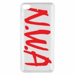 Чехол для Xiaomi Mi 5s N.W.A Logo