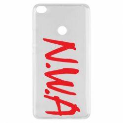 Чехол для Xiaomi Mi Max 2 N.W.A Logo