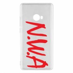 Чехол для Xiaomi Mi Note 2 N.W.A Logo