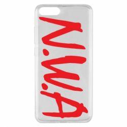 Чехол для Xiaomi Mi Note 3 N.W.A Logo