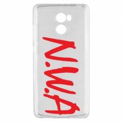 Чехол для Xiaomi Redmi 4 N.W.A Logo