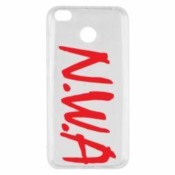 Чехол для Xiaomi Redmi 4x N.W.A Logo