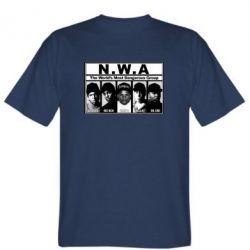 Мужская футболка N.W.A. - FatLine