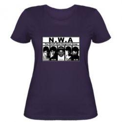 Женская футболка N.W.A. - FatLine