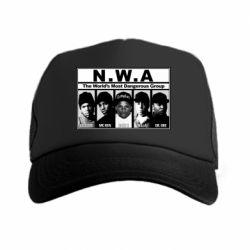 Кепка-тракер N.W.A. - FatLine