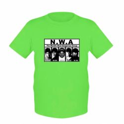 Детская футболка N.W.A. - FatLine