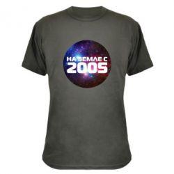 Камуфляжная футболка На земле с 2005 - FatLine
