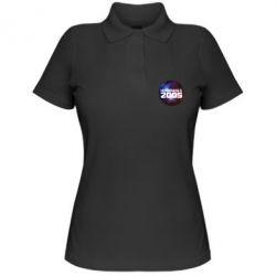 Женская футболка поло На земле с 2005 - FatLine