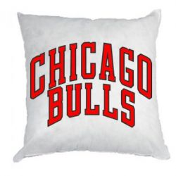 Подушка Надпись Chicago Bulls - FatLine