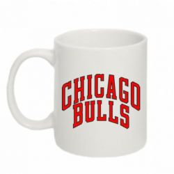 Кружка 320ml Надпись Chicago Bulls - FatLine