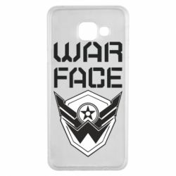 Чохол для Samsung A3 2016 Напис Warface