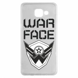 Чохол для Samsung A5 2016 Напис Warface