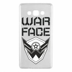 Чохол для Samsung A7 2015 Напис Warface