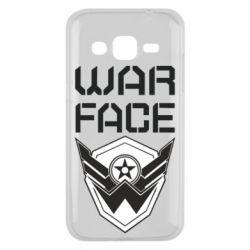 Чохол для Samsung J2 2015 Напис Warface
