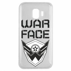 Чохол для Samsung J2 2018 Напис Warface