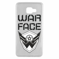Чохол для Samsung A7 2016 Напис Warface