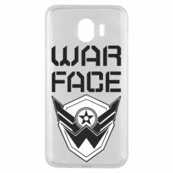 Чохол для Samsung J4 Напис Warface
