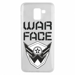 Чохол для Samsung J6 Напис Warface