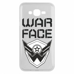 Чохол для Samsung J7 2015 Напис Warface