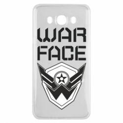 Чохол для Samsung J7 2016 Напис Warface