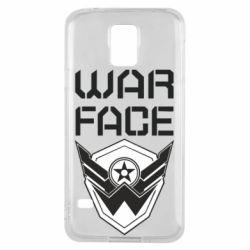 Чохол для Samsung S5 Напис Warface
