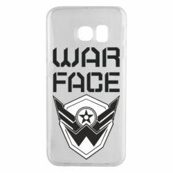 Чохол для Samsung S6 EDGE Напис Warface