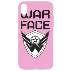 Чохол для iPhone XR Напис Warface
