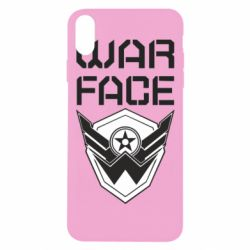 Чохол для iPhone Xs Max Напис Warface