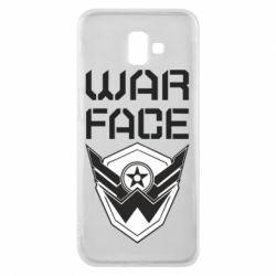 Чохол для Samsung J6 Plus 2018 Напис Warface