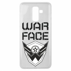 Чохол для Samsung J8 2018 Напис Warface