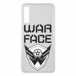 Чохол для Samsung A7 2018 Напис Warface
